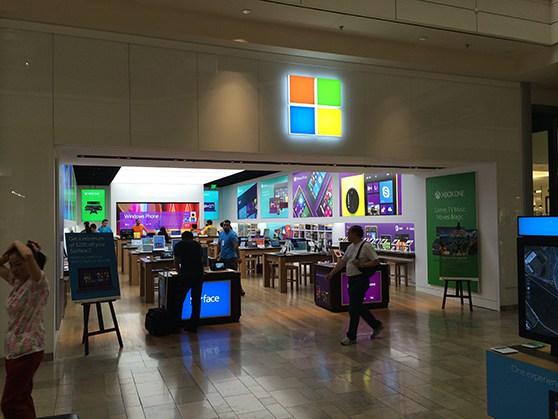 NAB2014 | Microsoft Store Las Vegas